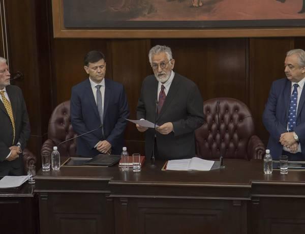 Juramento Gobernador Alberto Rodríguez Saá